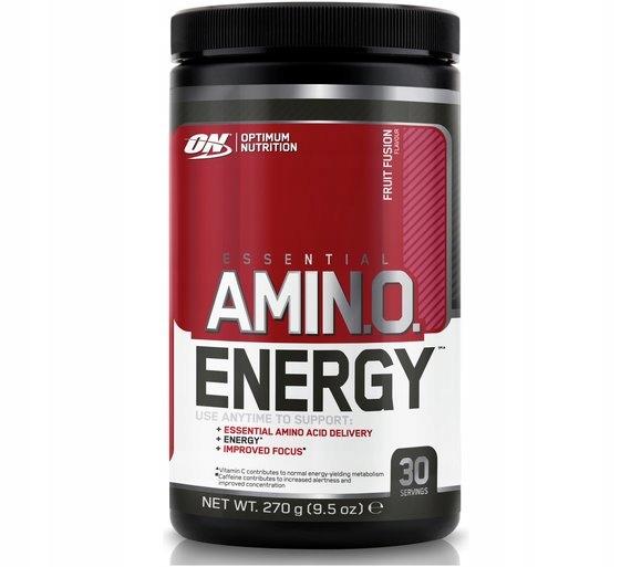 OPTIUM NUTRITION AMINO ENERGY AMINKOWASY 270G F17
