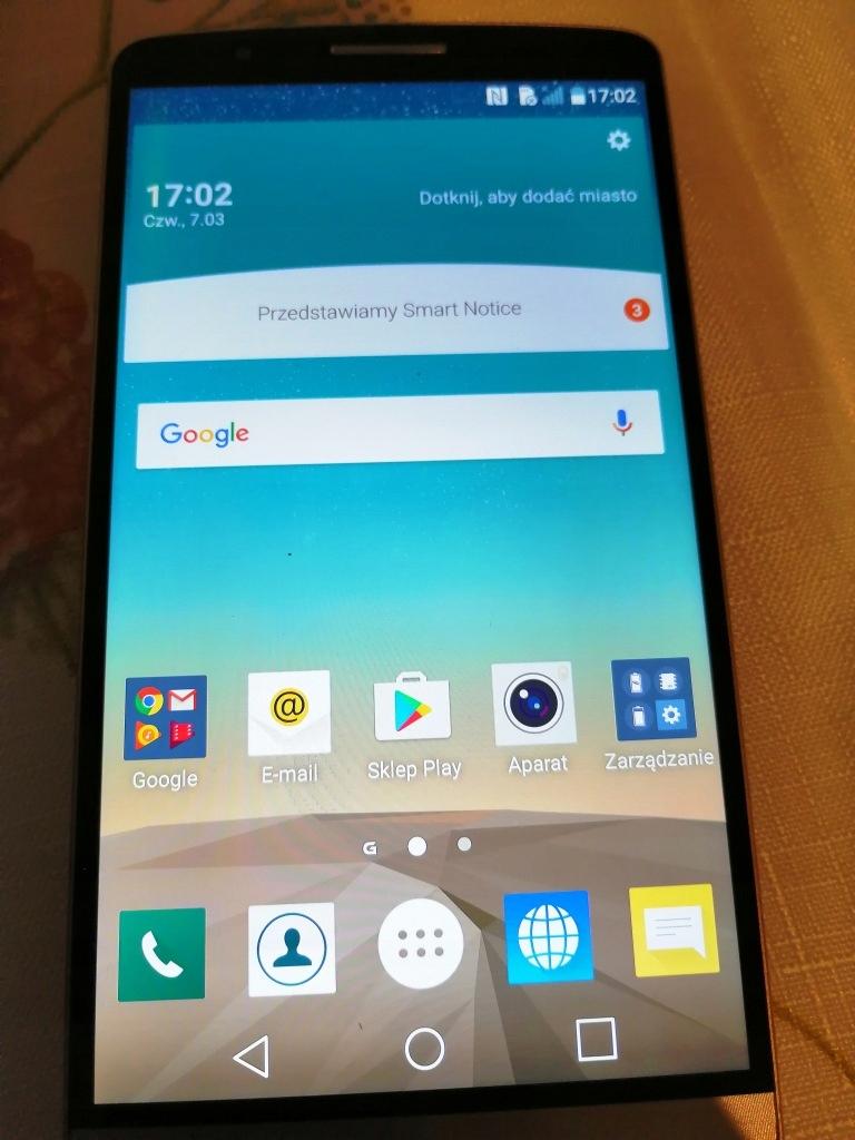 LG G3 D855 32GB Złoty
