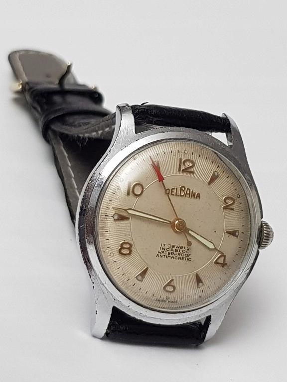 Stary zegarek Delbana