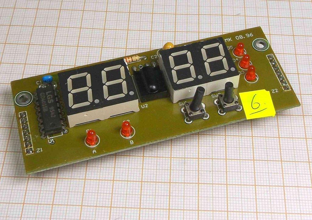 Wyświetlacz LED TOS-5163BH w module [M1-KW]6