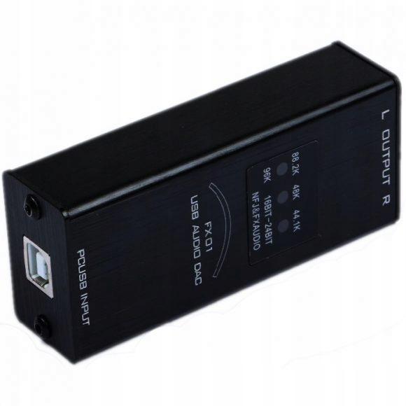 FX-AUDIO FX01 PRZETWORNIK DAC USB PC 32BIT 384KHZ