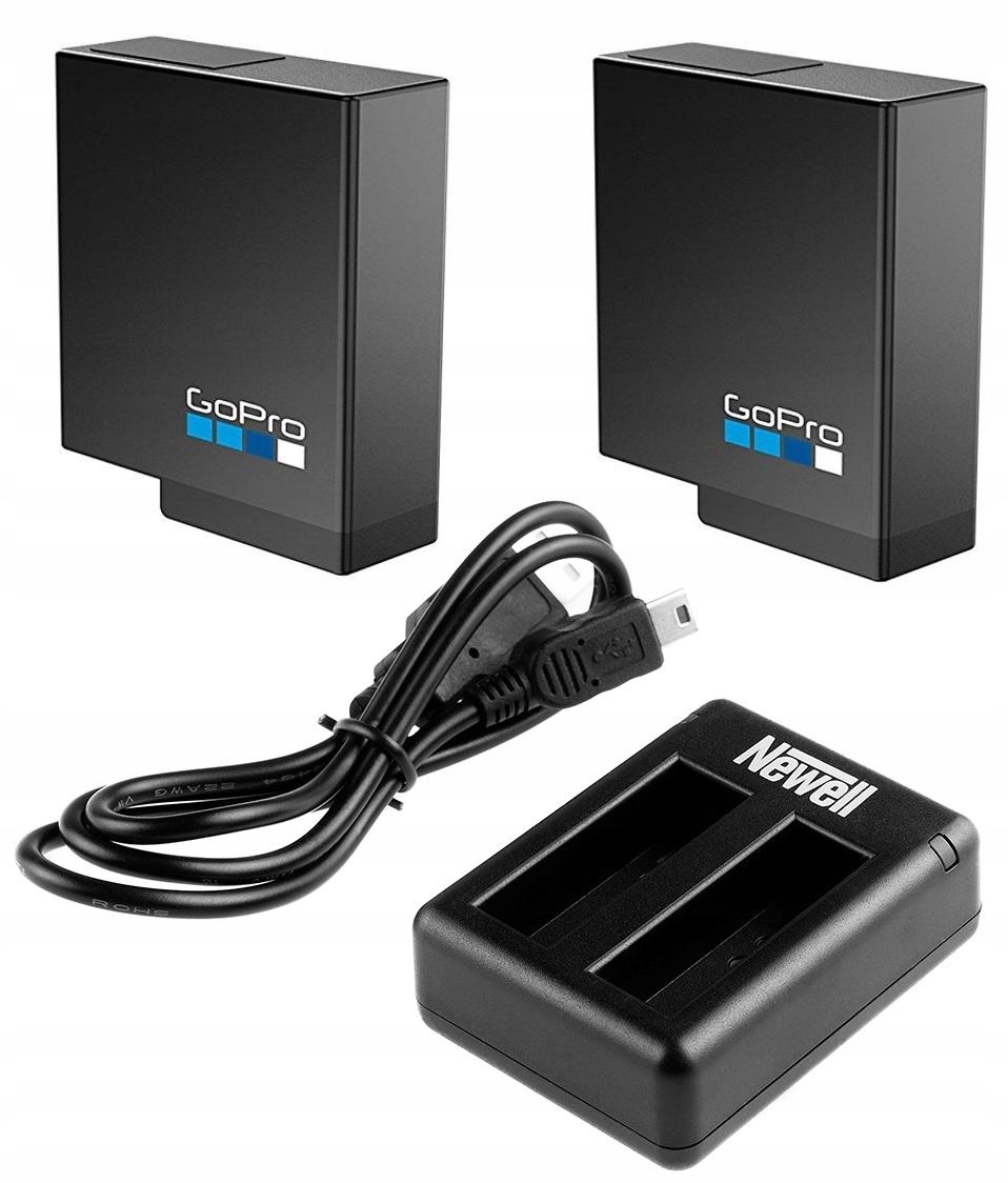 Ładowarka 2x akumulator bateria GoPro HERO 7 Black