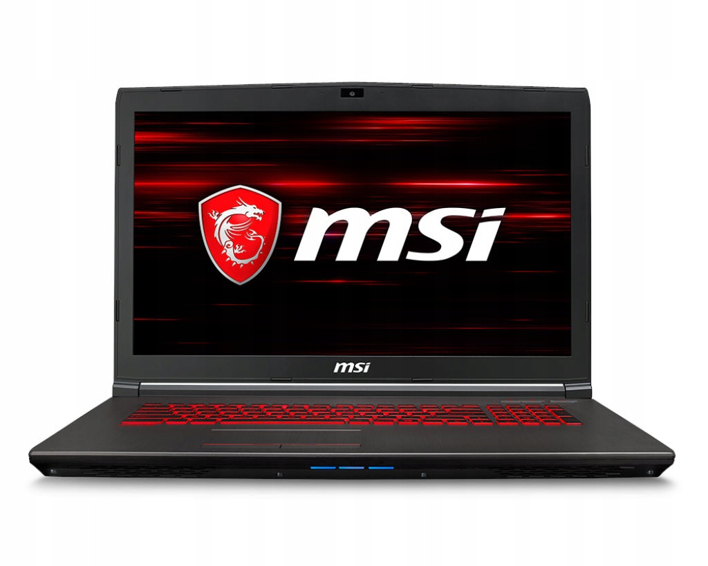Laptop MSI GV72 8RC-044XPL i7 8GB 1TB 17.3 GTX1050