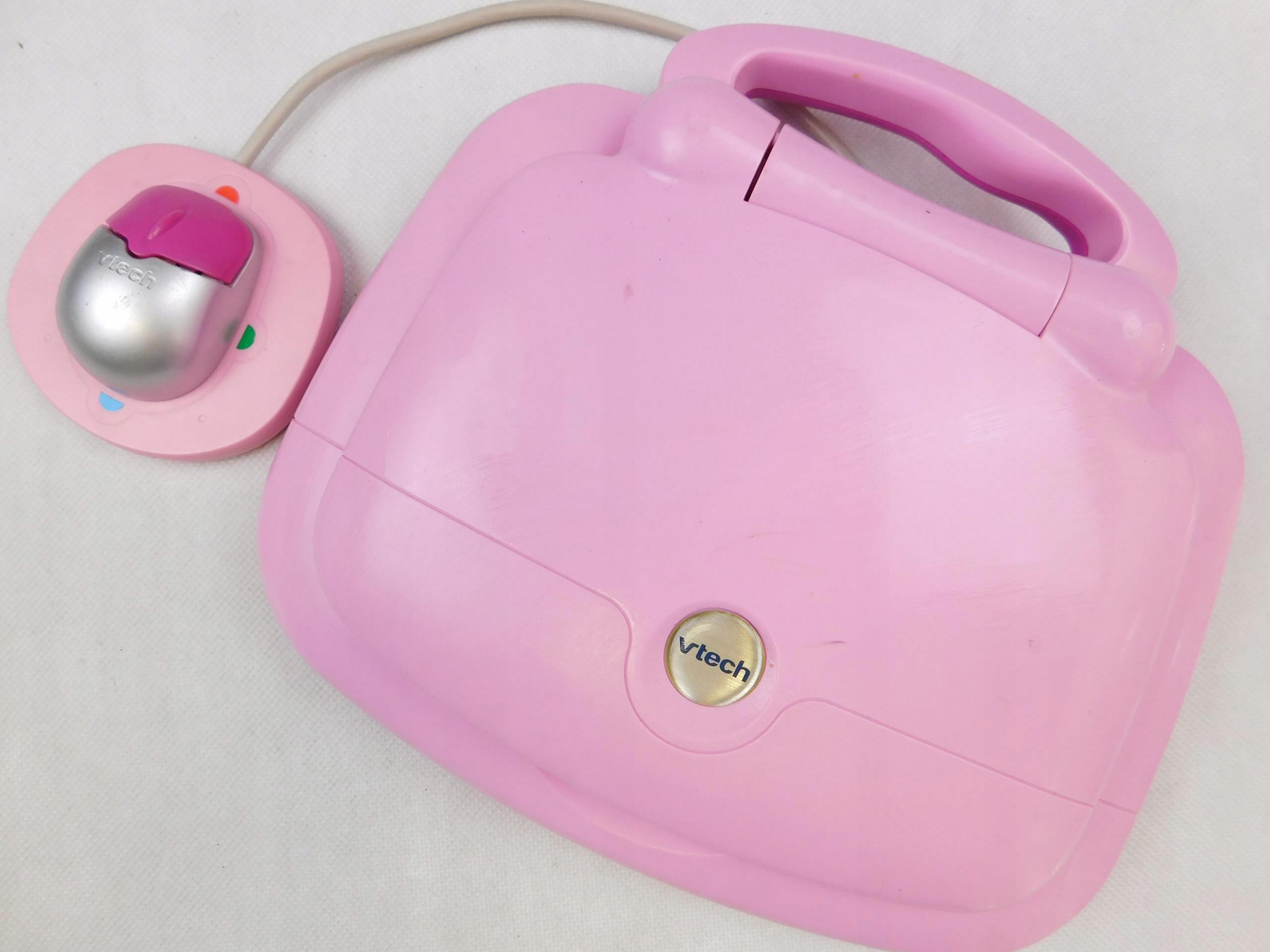VTECH edukacyjna ZABAWKA interaktywna LAPTOP pink