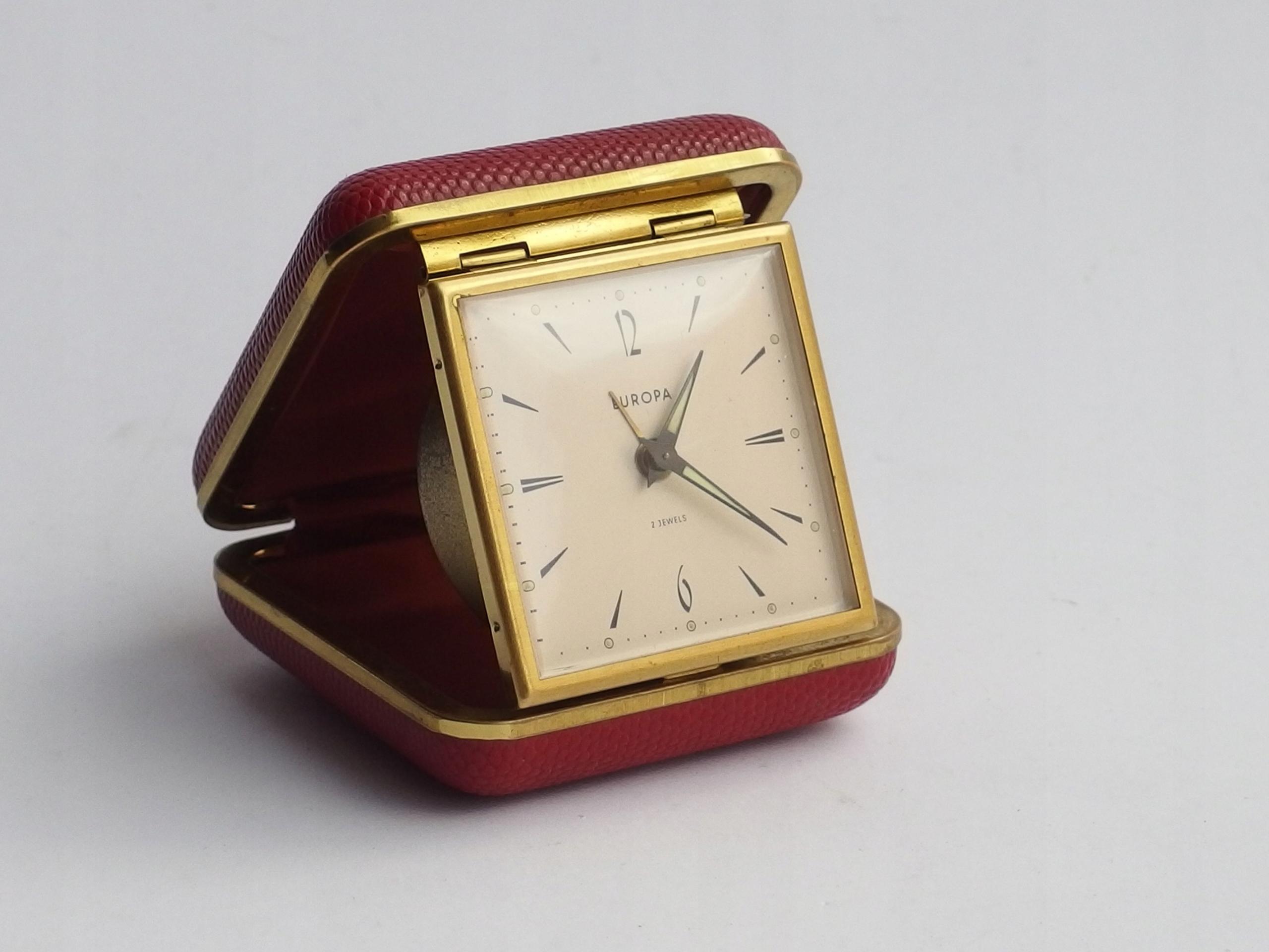 Sprawny Zegar Budzik Podróżny Europa 2 Jewels