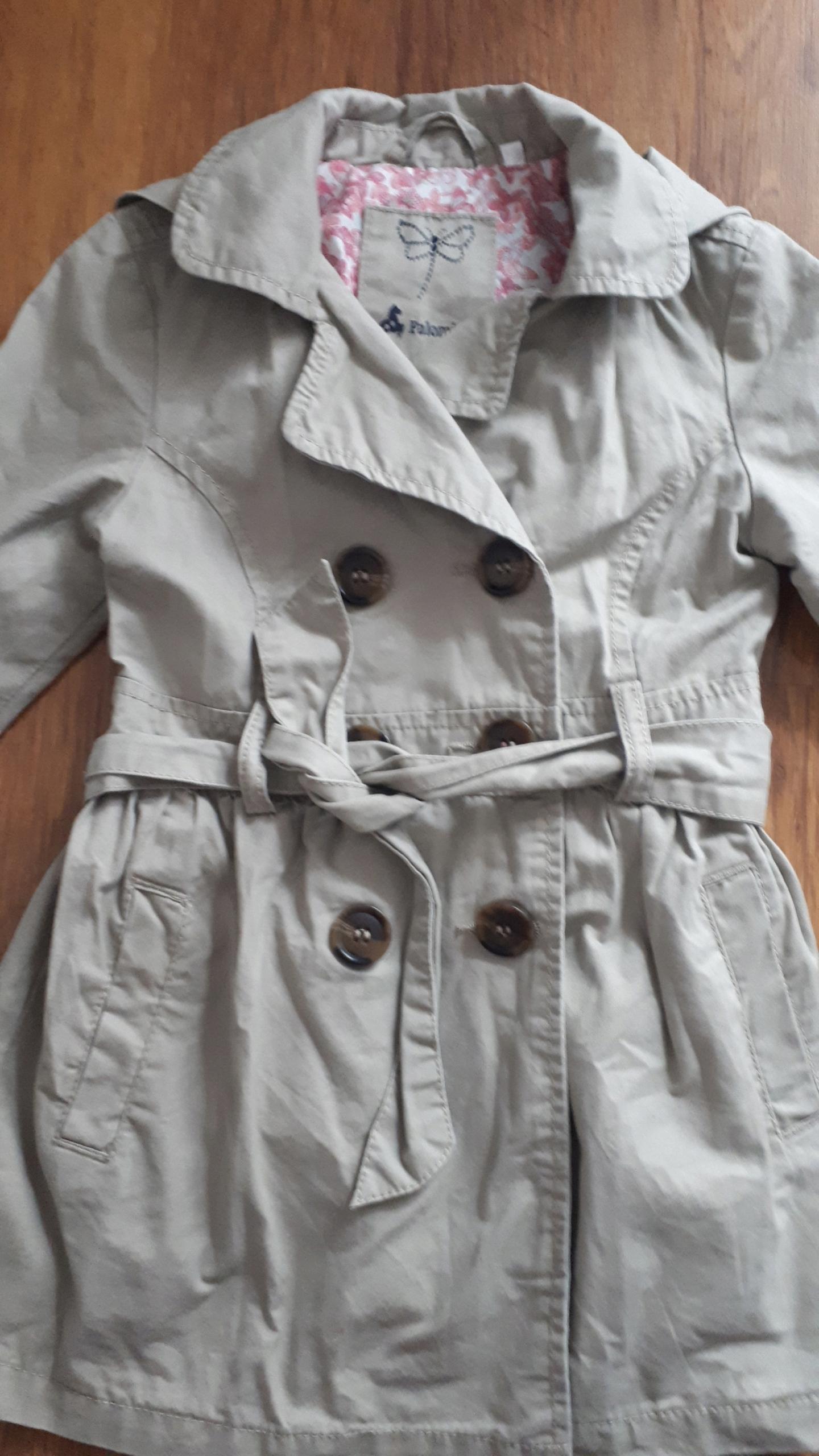 Płaszcz dziecko płaszczyk dziewczynki 104 C&A