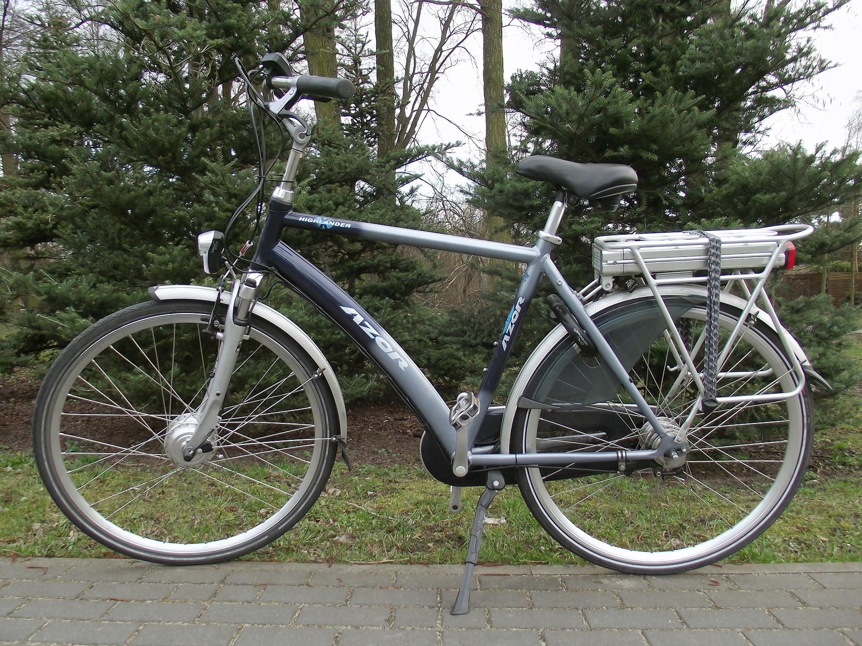 Rower elektryczny, holenderski Azor