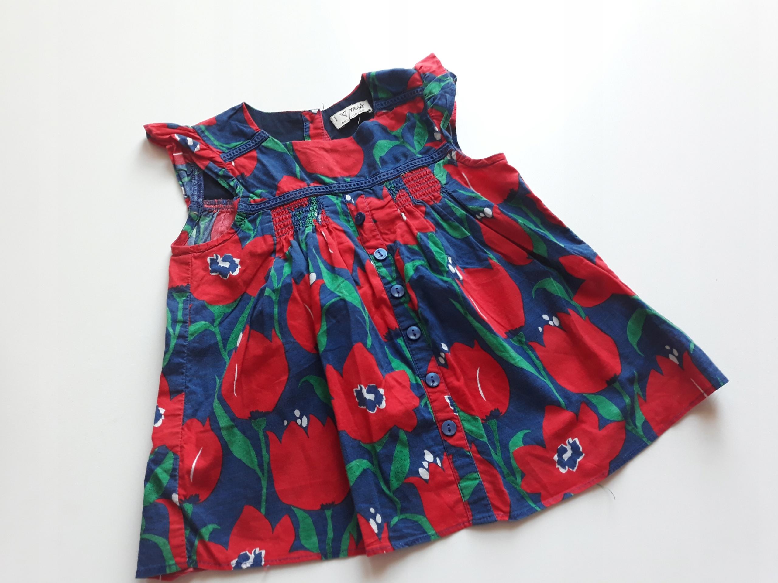 agastyl NEXT bluzka tulipany 92