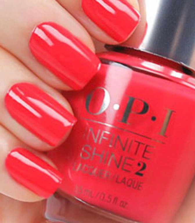 OPI infinite SHINE she went on , pretty pink 15ml