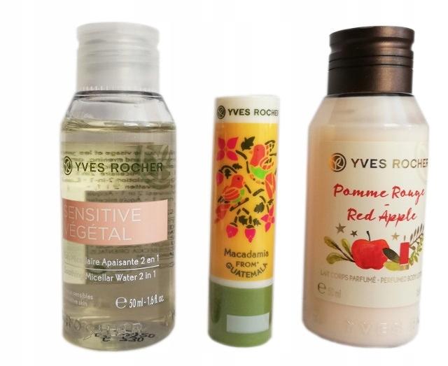 Yves Rocher Zestaw Mini kosmetyków + 5xGRATIS !!!