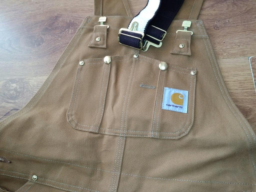 Ogrodniczki spodnie Carhartt 34x32.