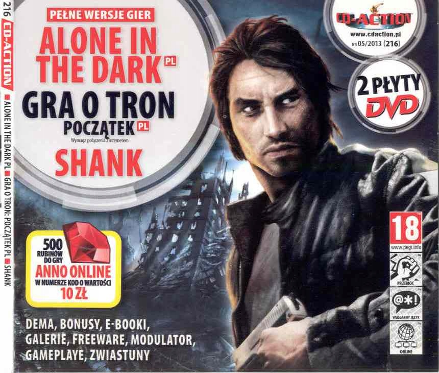 Płyta CD - Action nr 05/2013 (216)
