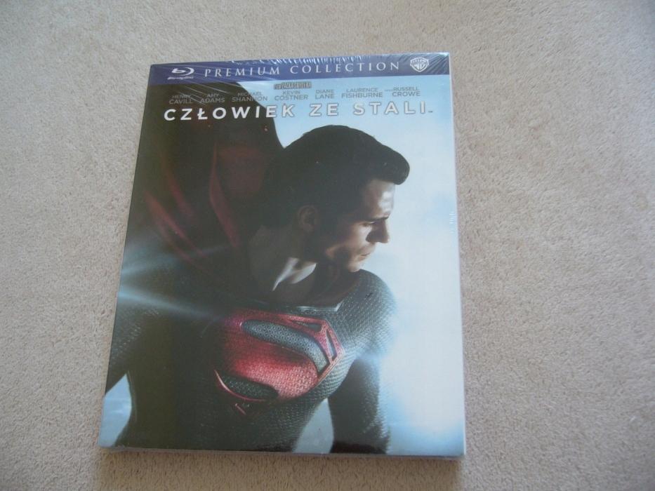 Człowiek ze stali Blu-ray Nowy