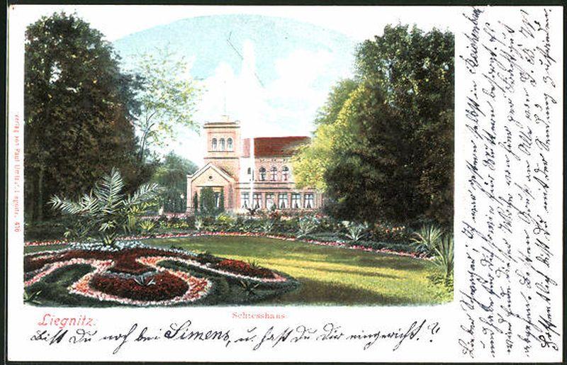 LEGNICA Liegnitz Schiesshaus 1900