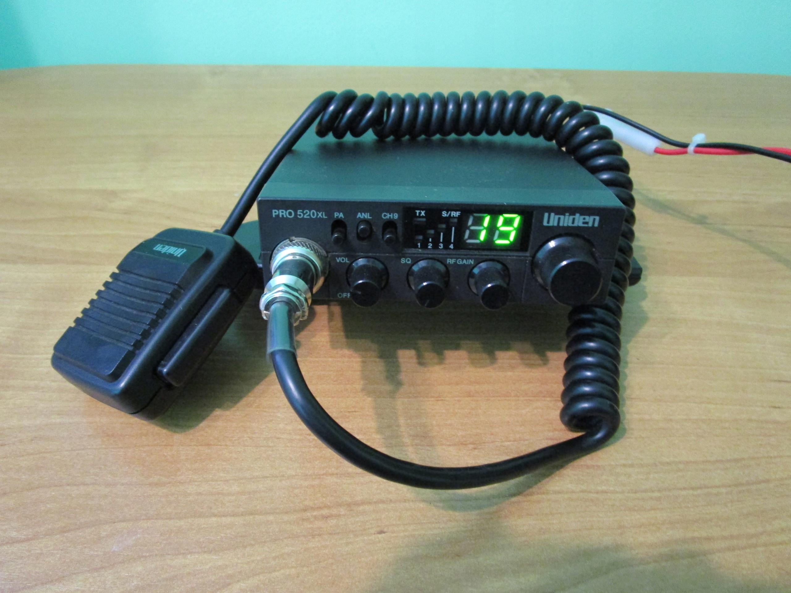 CB radio Uniden PRO 520XL,150% MOCY, No China LOOK
