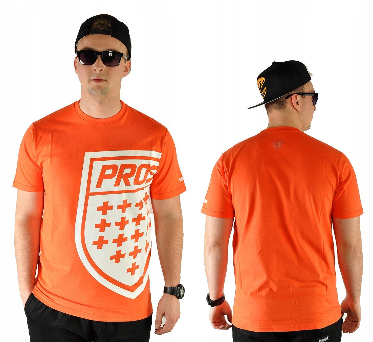 -40% Koszulka XL PROSTO KLASYK BIG SHIELD orange