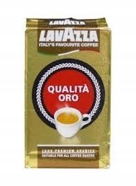 Lavazza Kawa Qualita Oro 100% Arabica - kawa mielo