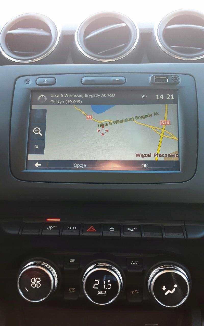Mapa Europy 2019 Dacia Renault Media Nav Evolution