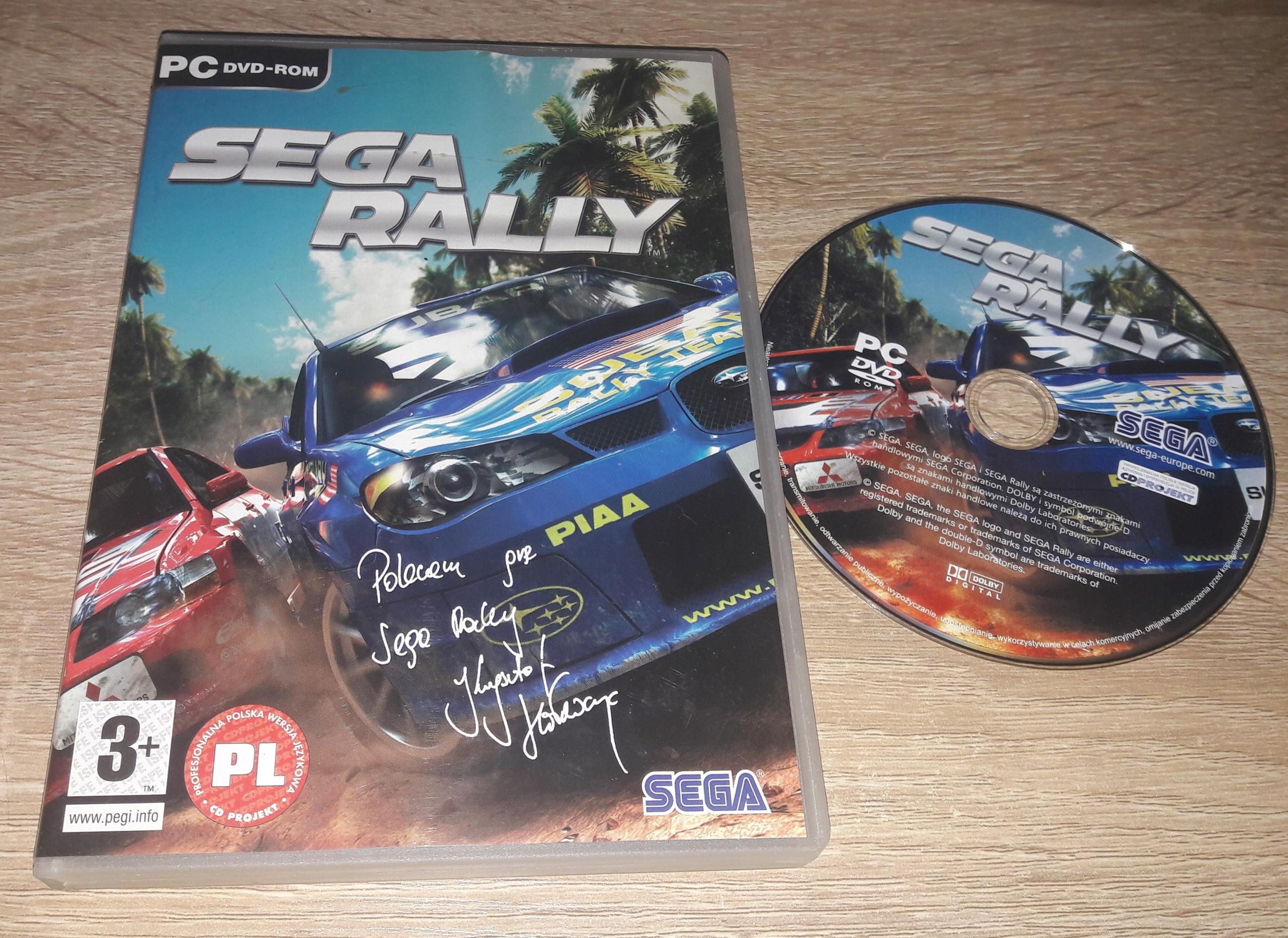 SEGA RALLY STAN 5-/6 PC PL