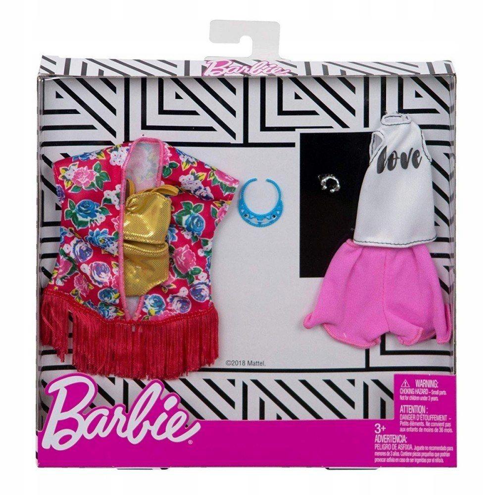Ubranka dla Barbie Fashion zestaw FXJ62