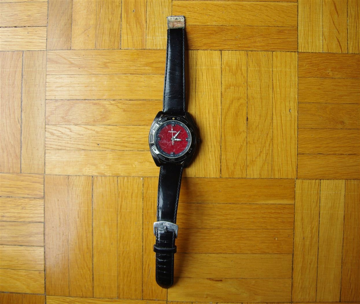 Fossil koperta zegarek