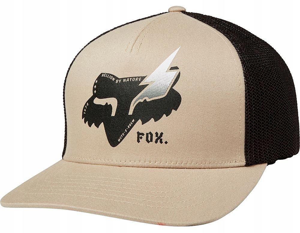 czapka Fox Hellion Flexfit - Sand