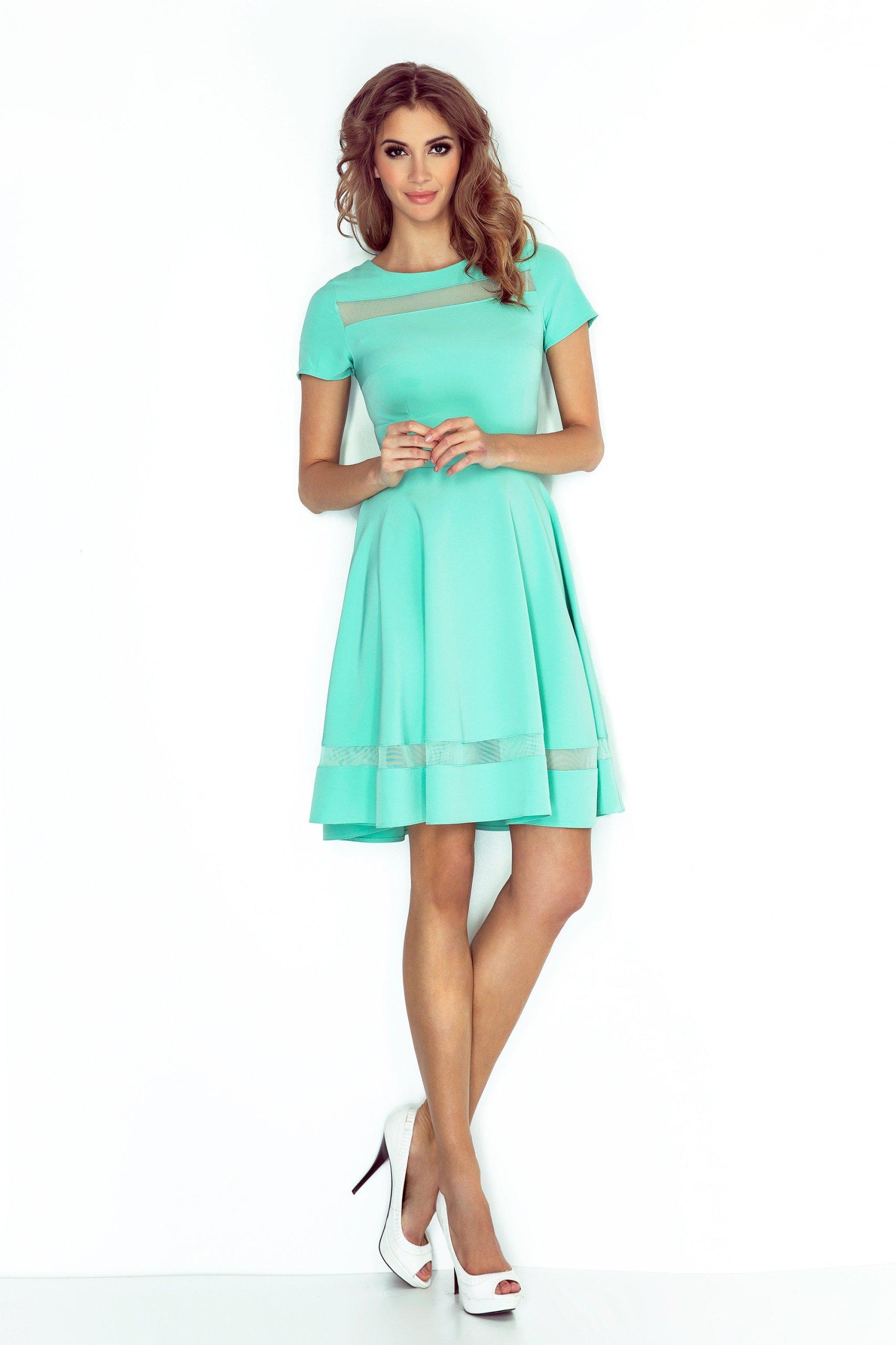 c1c0307ce Letnia Sukienka ROZKLOSZOWANA Na Lato 003-1 XL 42 - 7283254959 ...