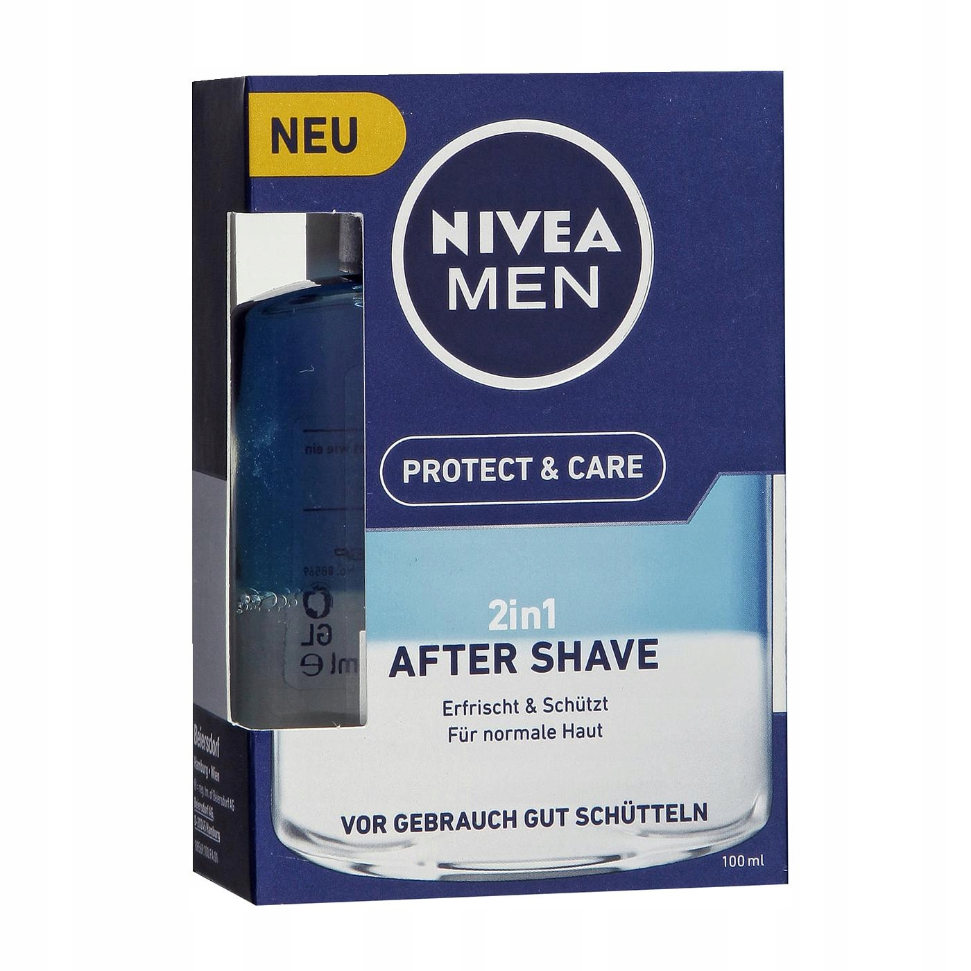 NIVEA MEN PROTECT & CARE 2w1 PO GOLENIU 100ml
