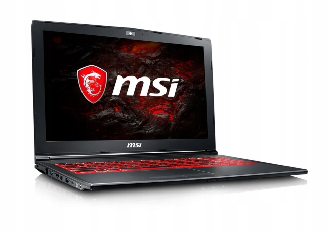 MSI GV62 7RC -064PL - 480GB M.2 + 1TB HDD | 16GB