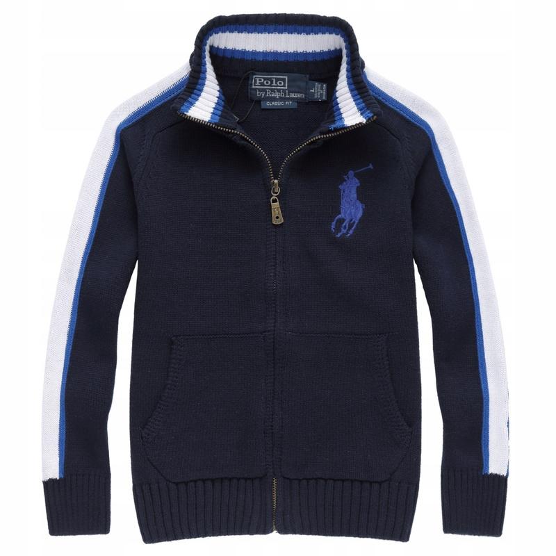 120 Bluza Sweterek Dziecięcy 3 chłopiec polo pp