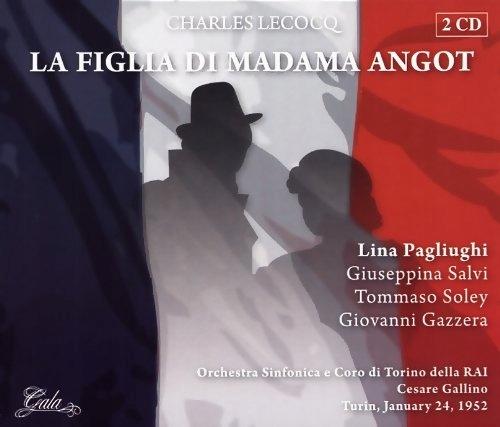 CD Lecocq, C. - La Figlia Di Madama Angot Orch.Di