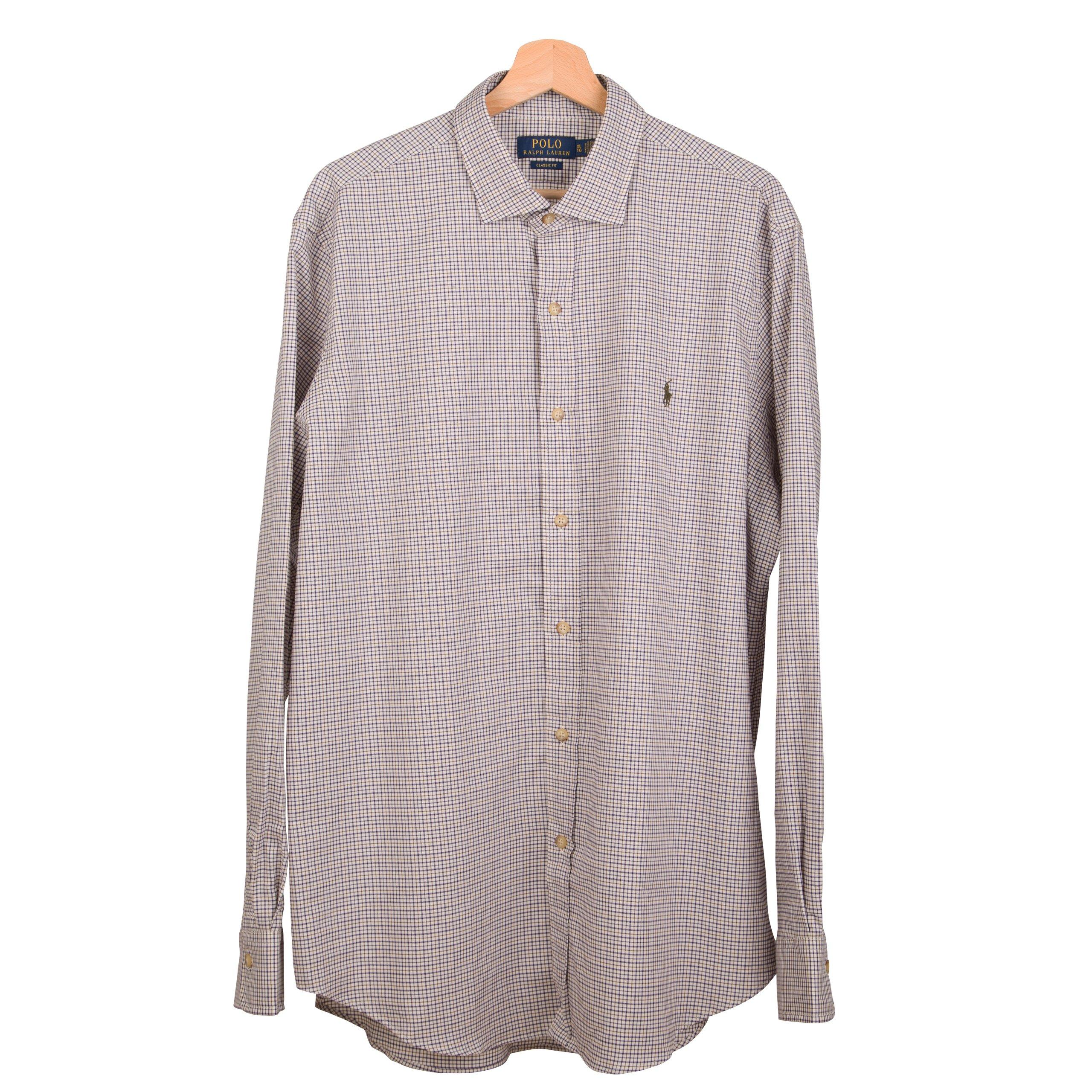 RALPH LAUREN POLO koszula męska kratka L