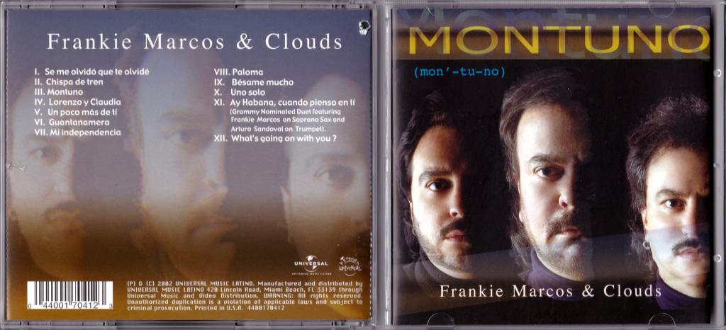 Frankie Marcos & Clouds - MONTUNO