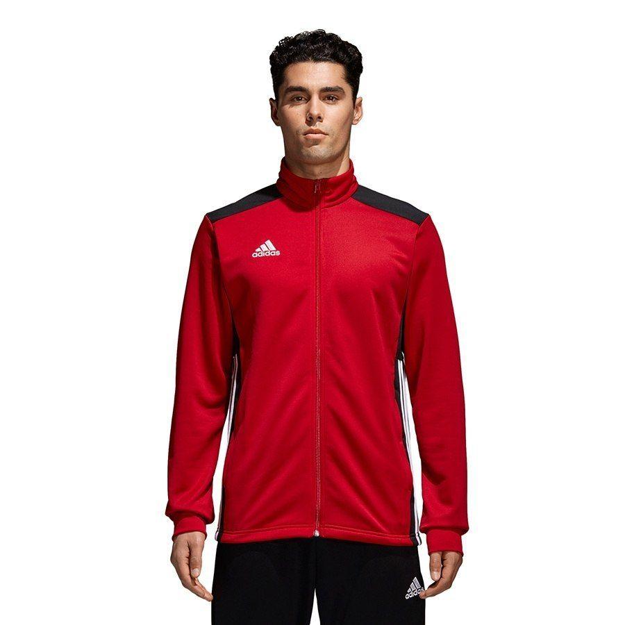Bluza Męska Piłkarska adidas Regista 18 czerwon M
