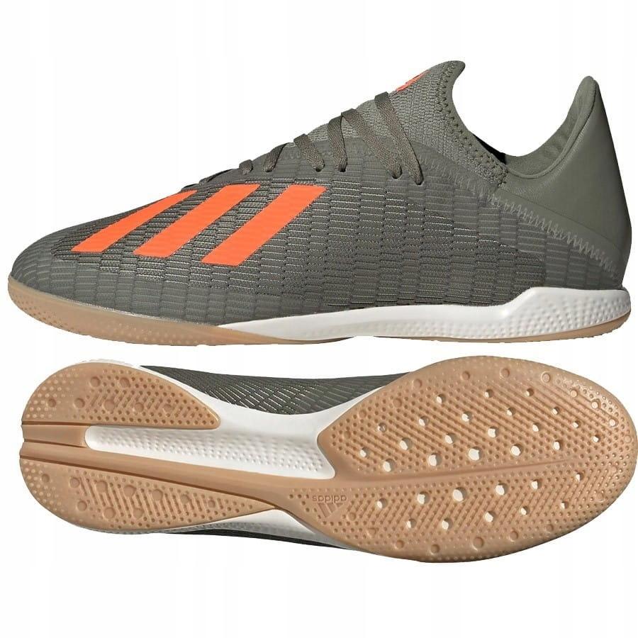 Buty adidas X 19.3 IN EF8367 ZIELONY; 43 13