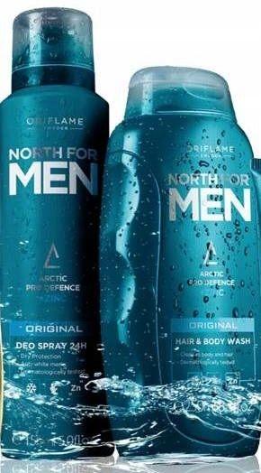 Żel do mycia, dezodorant North for Men Oriflame