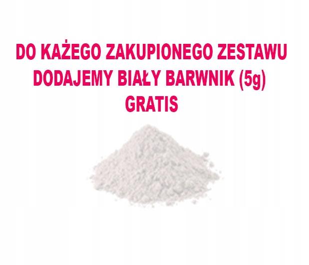 6fdf218618da2c BARWNIKI SPOŻYWCZE W PROSZKU ZESTAW 10szt + GRATIS - 7662108402 ...