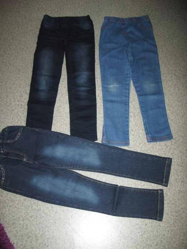 Spodnie jeansowe (rozm.122) 6-7 lat