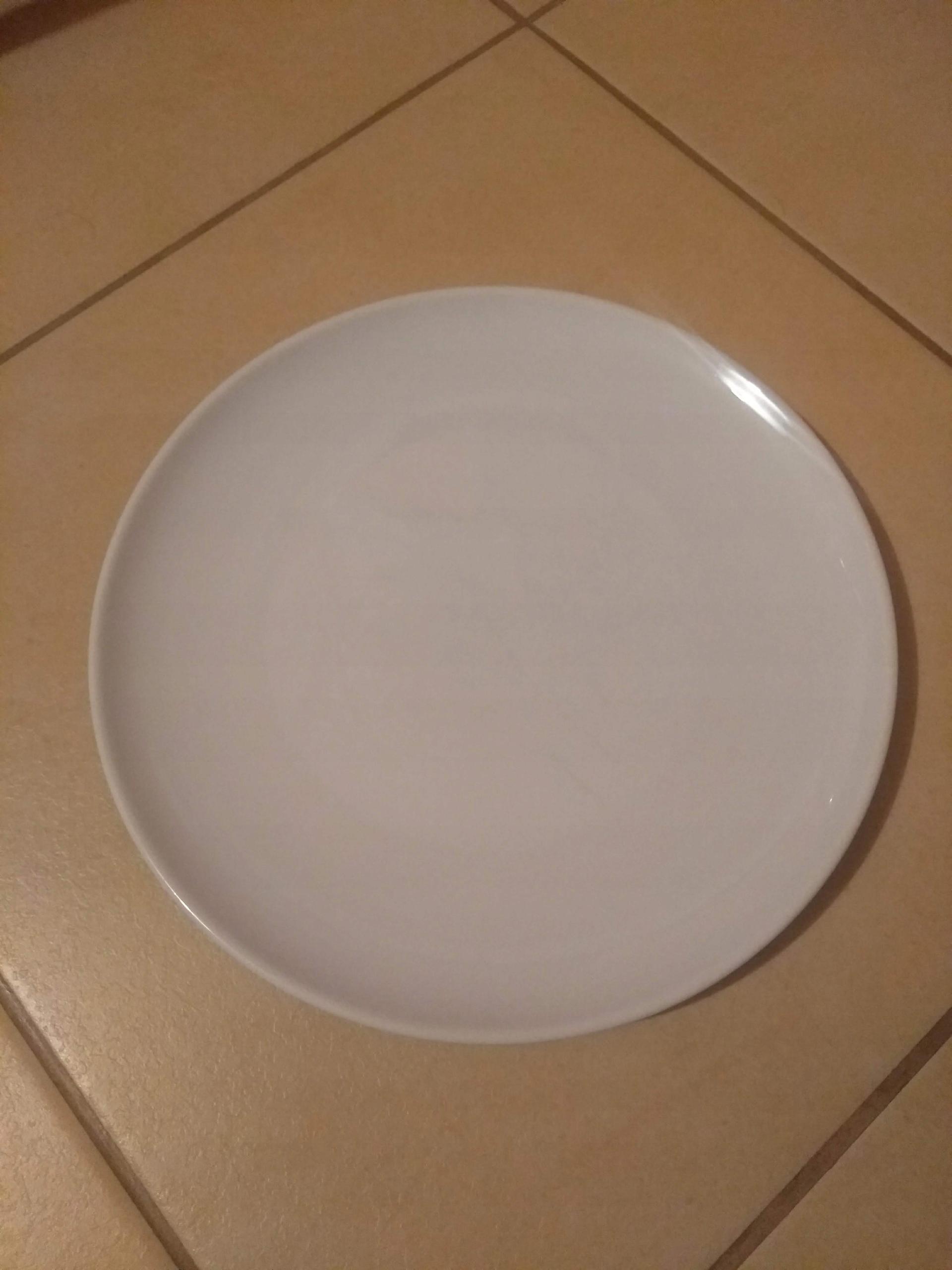 Vista Alegre Płaski Porcelana Biały 22 cm 10 szt