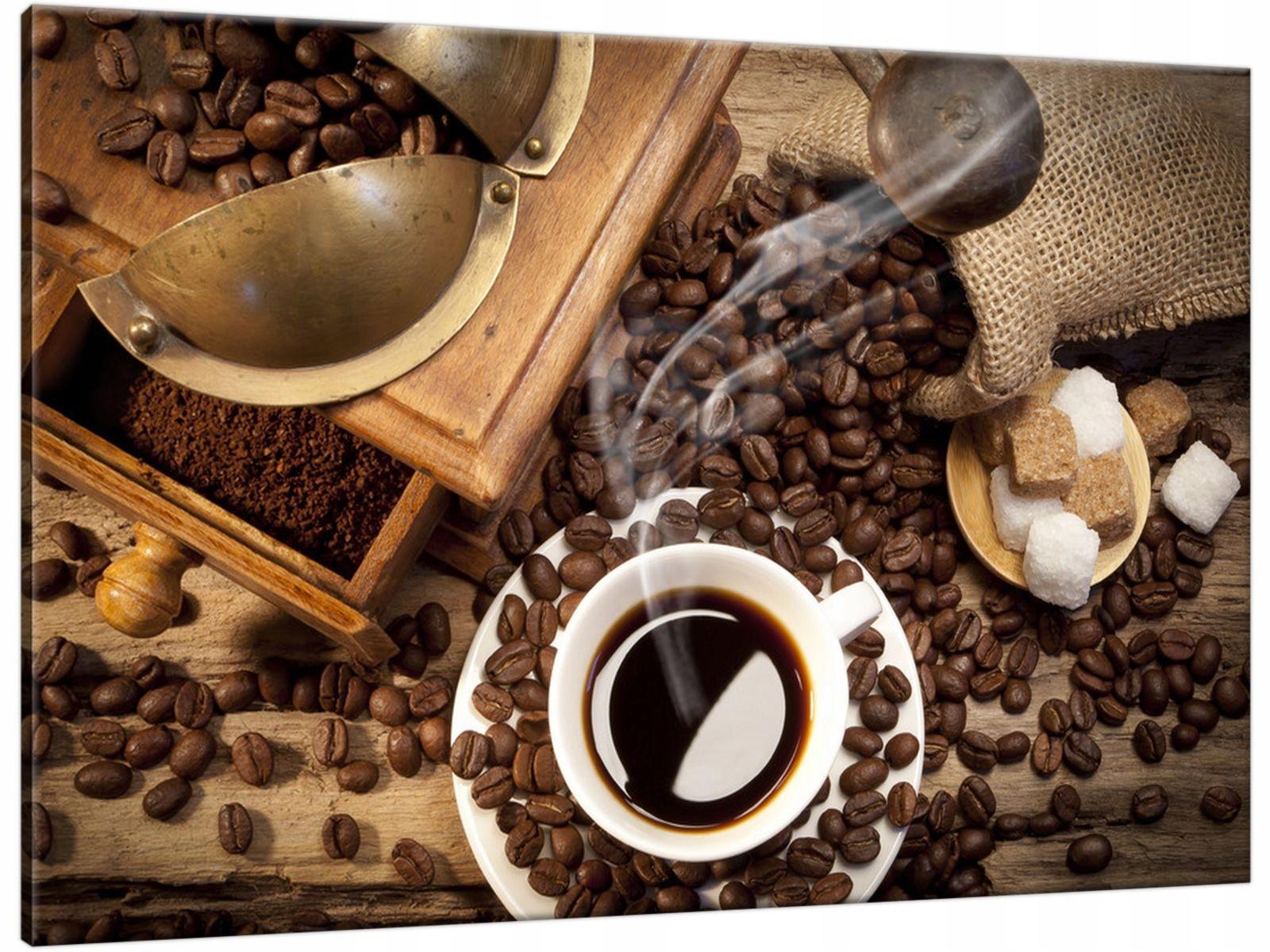 Obraz na Płótnie 60x40 Aromatyczna kawa