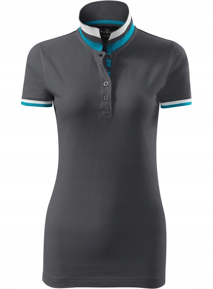 ELEGANCKA damska koszulka polo MALFINI COLLAR XL