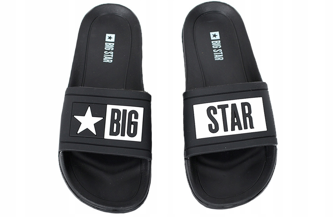 Czarne klapki big star R36