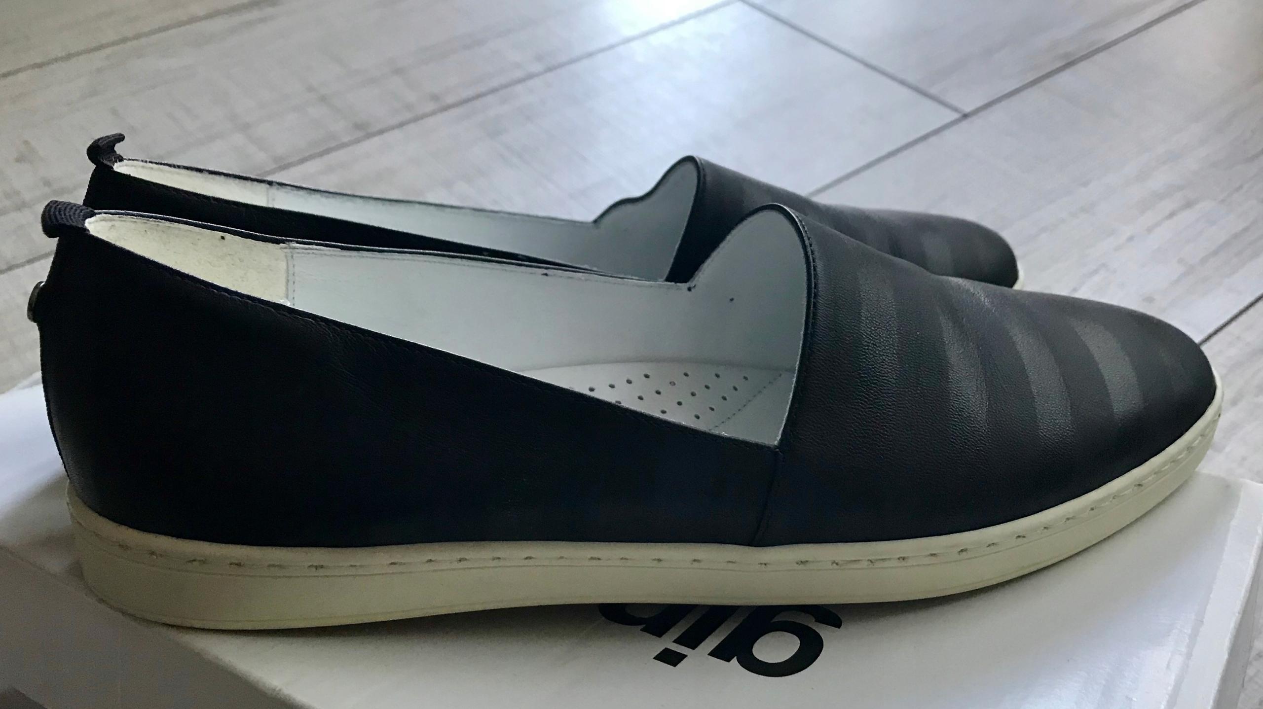 Czarne półbuty sneakers Gino Rossi skóra roz. 37,5