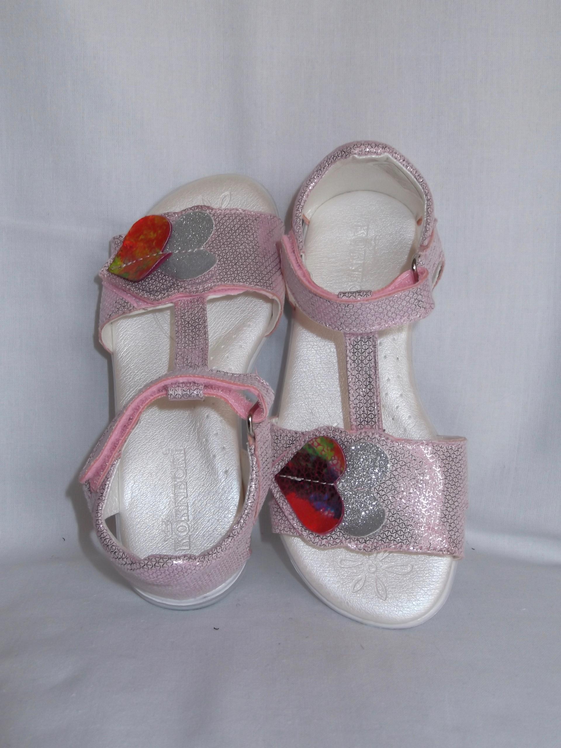 Sandałki dziewczynka Kornecki 6331 wkł.19 cm roz30