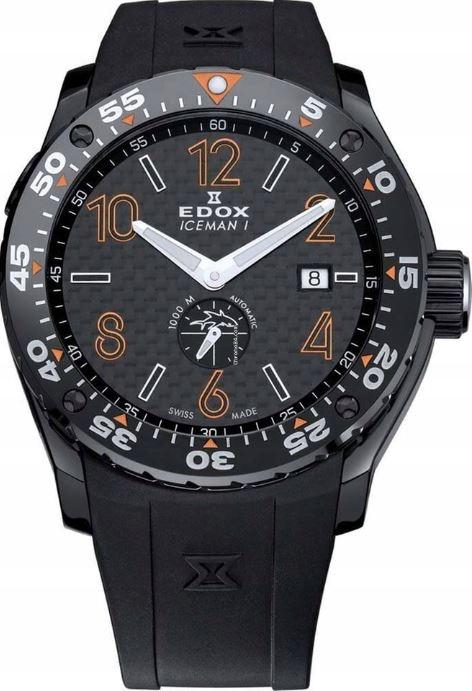 Prestiżowy szwajcarski EDOX ICEMAN SHARK Limited
