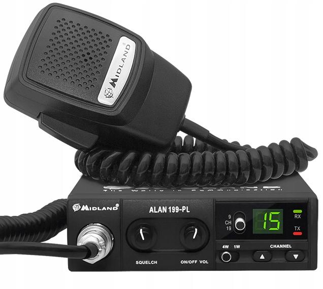 Radio CB MIDLAND ALAN 199A AM 9/19 CB-120