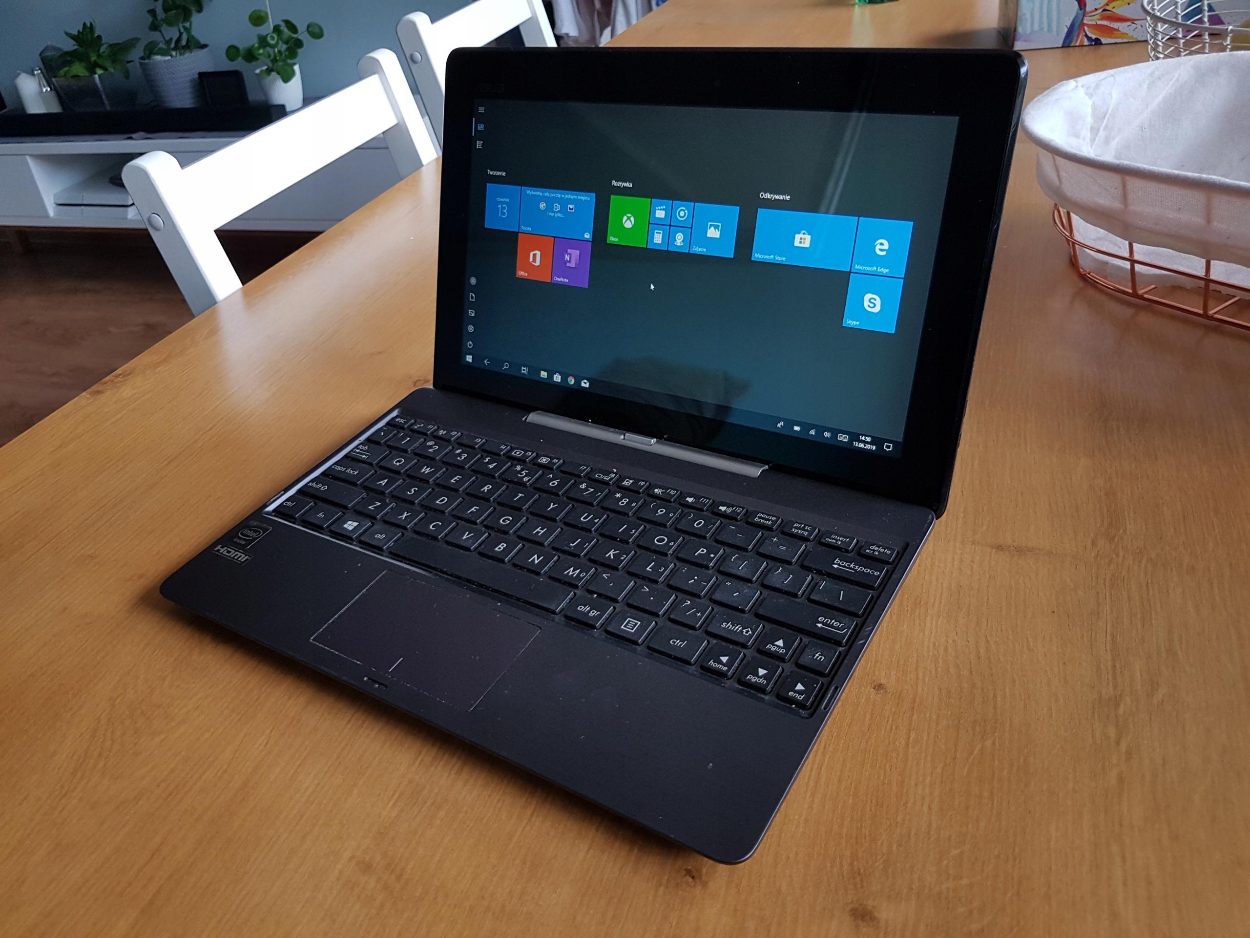 Laptop Asus Transformer 2 w 1 - laptop i tablet