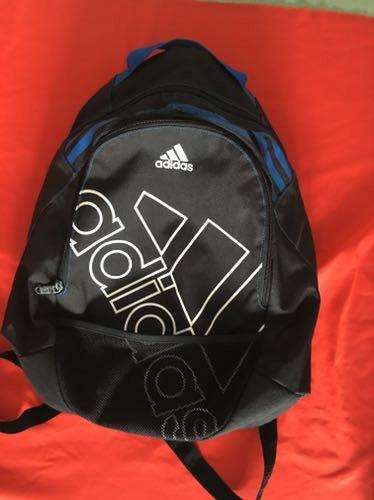 Plecak ADIDAS czarno niebieski oryginalny