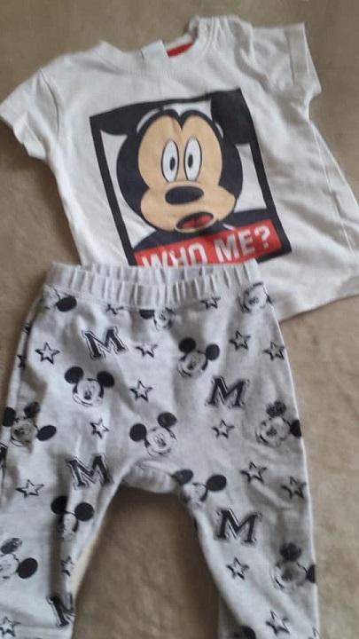 Zestaw Mickey w rozmiarze 74