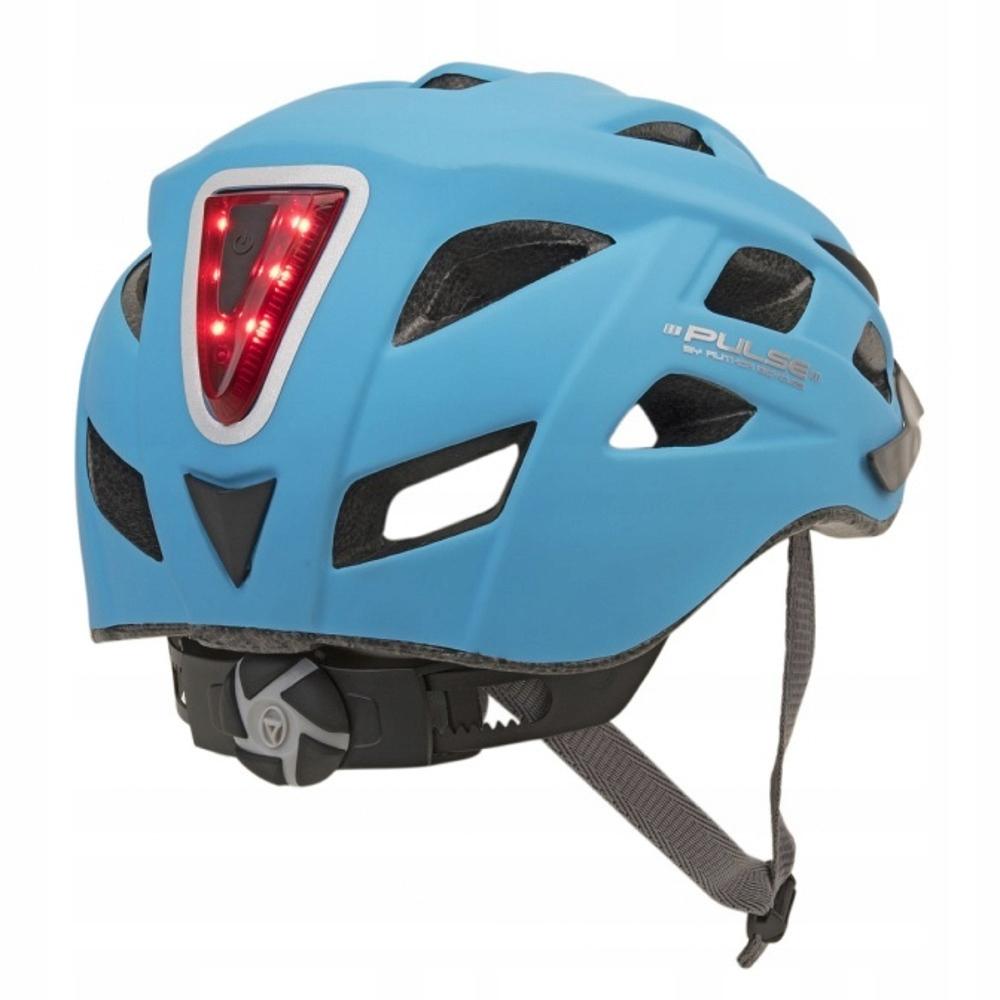 Kask rowerowy MTB z lampką AUTHOR LED XS/S 53-58cm